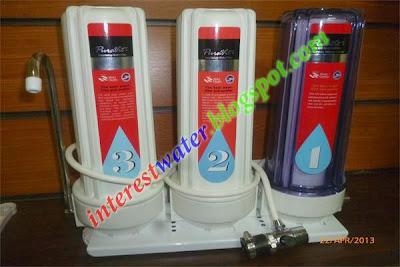 فلتر مياه 3 مراحل