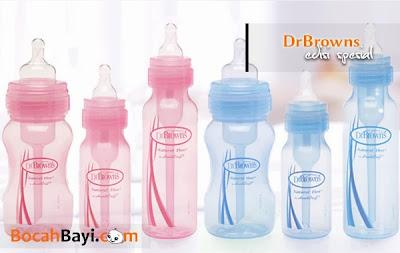 Botol DrBrowns Edisi Spesial, pink, biru,blue