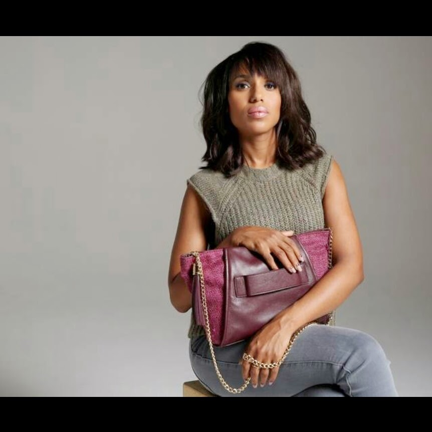 Kerry Washington Helps Survivors of Domestic Violence