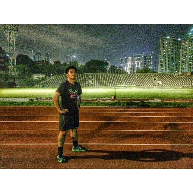 Training session at Phils Sports Arena (Ultra)
