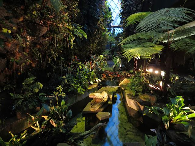 Gardens by the bay cloud forest secret garden