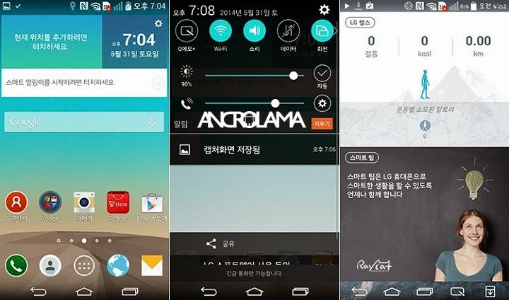LG G2 Cihazlarına G3 Arayüzü Geliyor