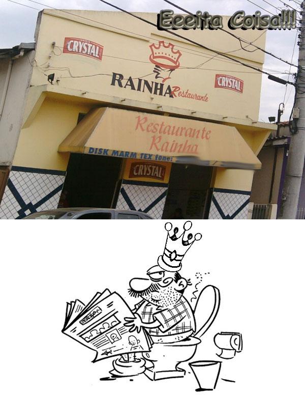 quer ter vida de rei é a piadinha que fiz desse restaurante que se chama rainha