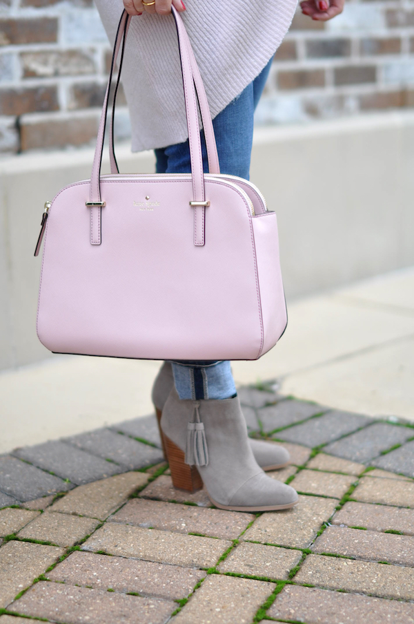 Fall & Winter Fashion - pink Kate Spade purse