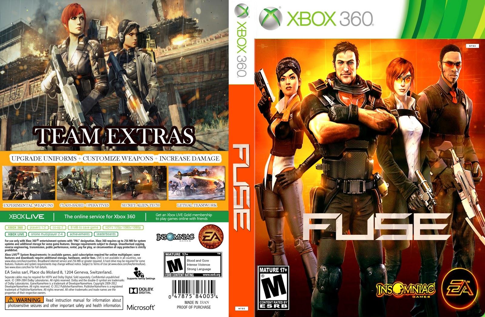 Fuse Xbox 360 Intel : Adrenalina b fuse