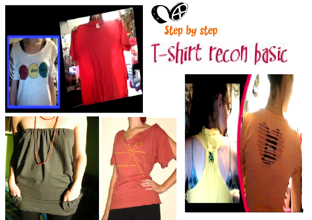 Beautiful Wallpapers  T-Shirt Reconstruction - Merubah kaos menjadi ... 6ce42a0b6b