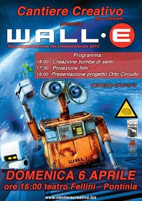Cinedocuforum 2014: Wall-E