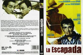 Carátula 1 dvd: La escapada (1962) (Il Sorpasso)