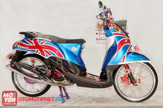 Modifikasi Yamaha Fino Road Race