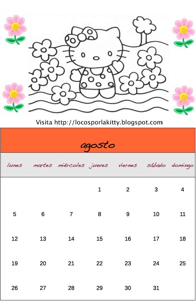 Disfruta con tu Calendario 2013 de Hello Kitty . ¡Hasta la próxima!