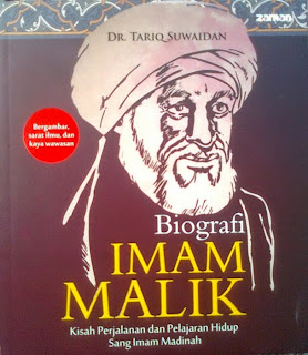 Jual Buku Online Surabaya | Biografi Imam Malik