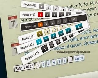 مشكلة عدم ظهور ترقيم الصفحات داخل أقسام المدونة