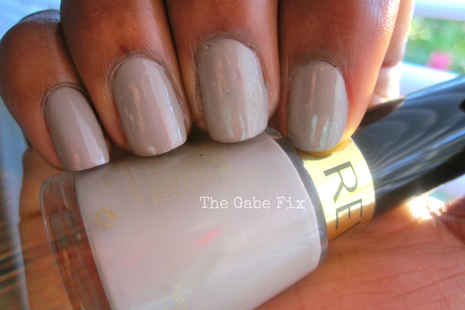 Manicure Monday - Smoky Canvas - The Gabe Fix by Gabrielle Flowers