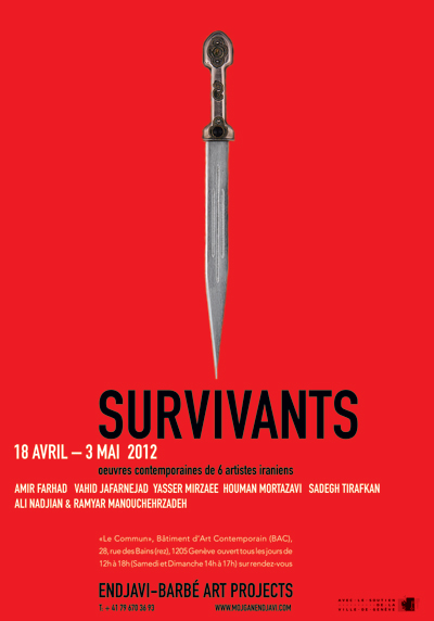 Art aware survivants for Poster contemporain