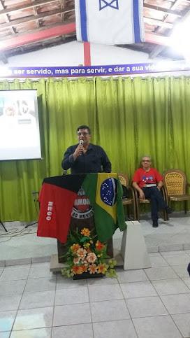2º DOMINGO DE CADA MÊS -  CULTO DE MISSÕES NA IGREJA BAT IND CRISTÃ BATISTA RENOVADA - 18:00 Horas.