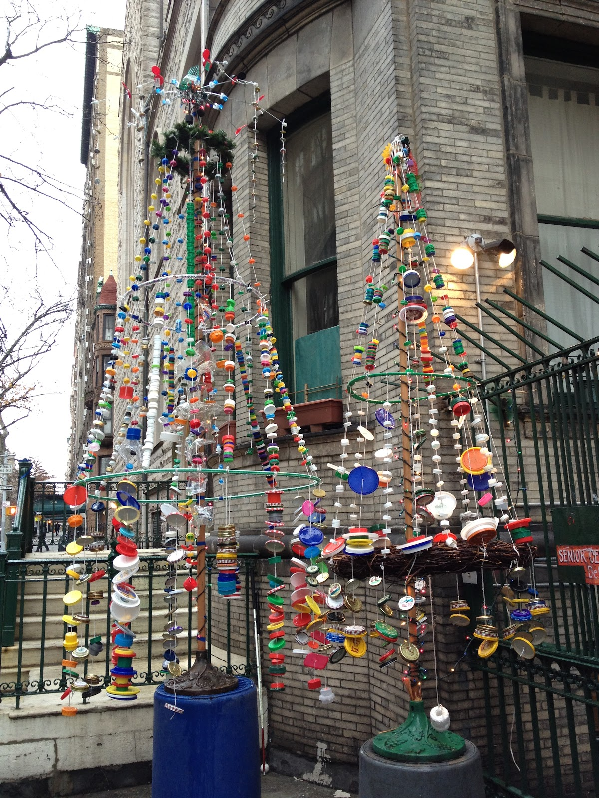Recycled Christmas Tree on Upper West Side | nyc BLOG estate | New ...