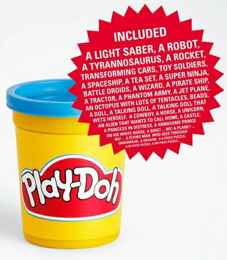 Homadge the copysumo blog play doh print ads for Advertising agency paris