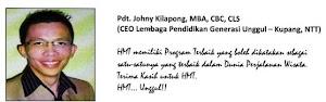 TESTIMONY - PDT. JOHNY KILAPONG, MBA, CBC, CLS