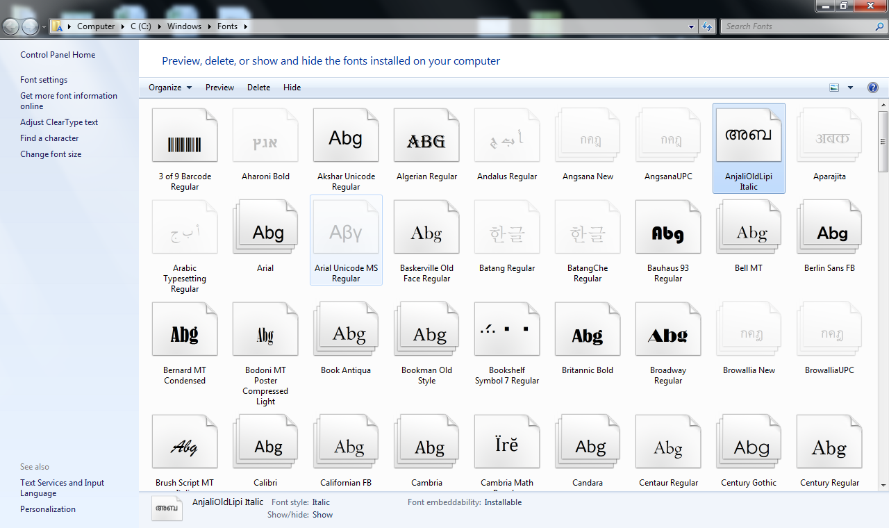 language translator online install tamil fonts in windows 7