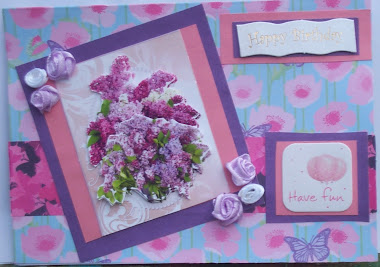 Lilac Birthday Card
