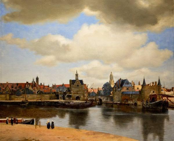 Johannes Vermeer - Vue de Deft,ca.1660.