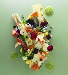El plato mas hermoso de Alain Ducasse!