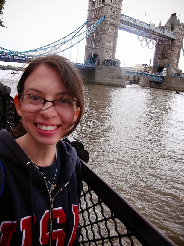 Tower Bridge during the London 2012 Olympic Games