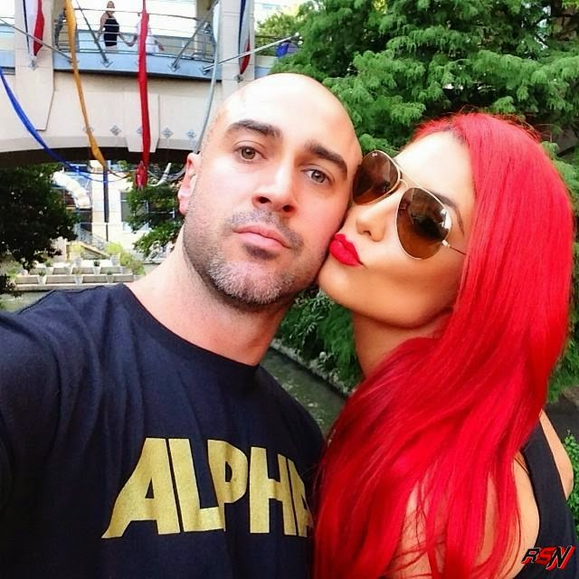 Eva Marie and Her Man.
