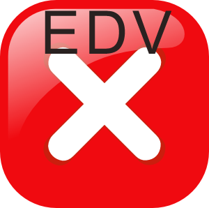 EDV error lottery cancell
