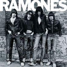 Portada del primer LP de Ramones (1976)
