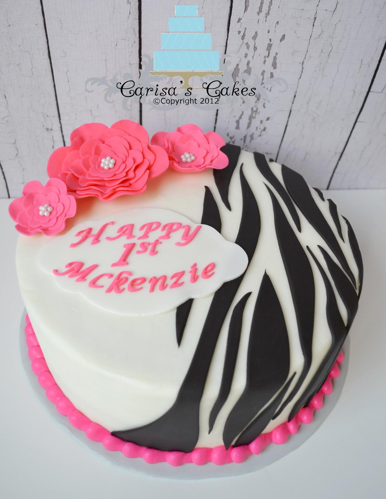 how to make zebra cake fondant