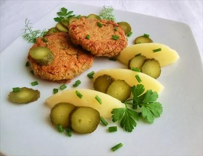 polpette vegetariane ai semi di girasole / albóndigas vegetarianas con semillas de girasol