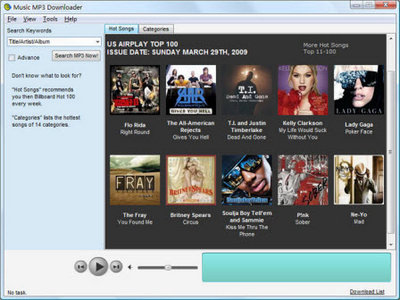 over 100 million mp3 from the