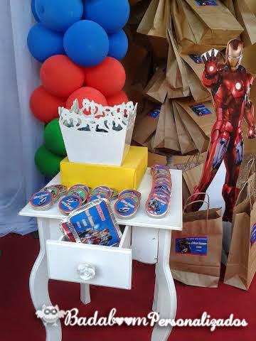 Festa Infantil, Vingadores, Avengers, kit digital, Artes digitais, rótulos, guloseimas, caixas, marmitas, tags, toppers