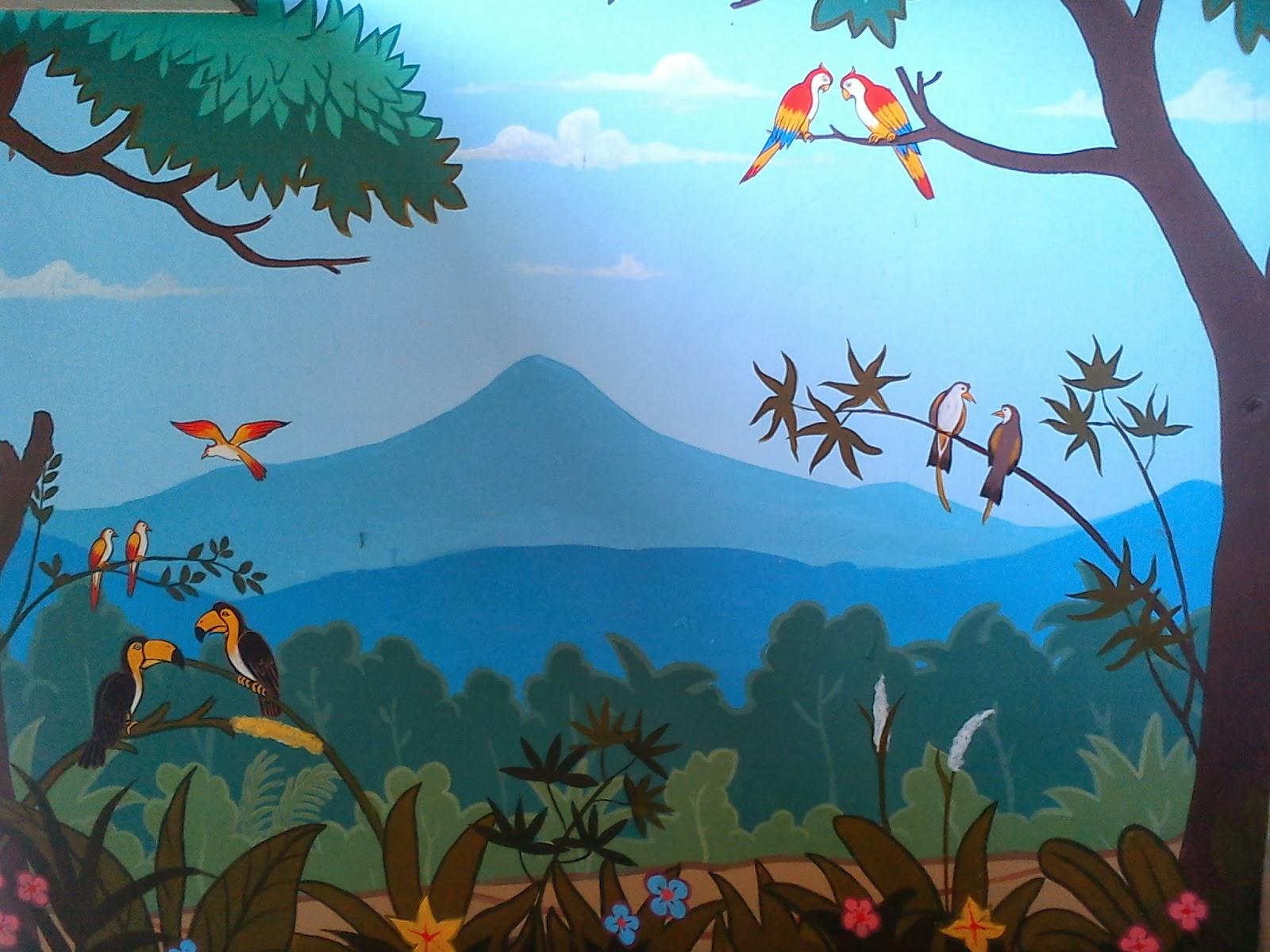 Djian elok decoration agustus 2013 for Mural untuk kanak kanak