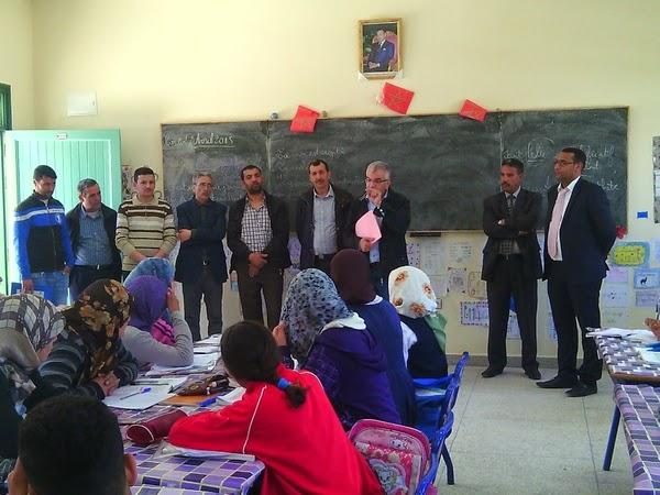 ثانوية أبوبكر القادري الإعدادية تحتضن الانطلاقة الفعلية لعملية من الطفل إلى الطفل للمؤسسات التعليمية بالحوض المدرسي للجماعة القروية الزينات