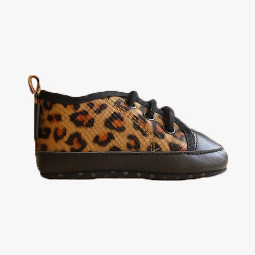Zapatitos leopardo bebé