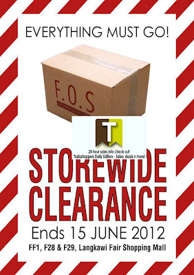 F.O.S Storewide Clearance Sale