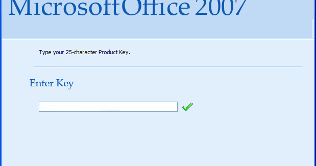 Can i get a microsoft word 2007 product key?
