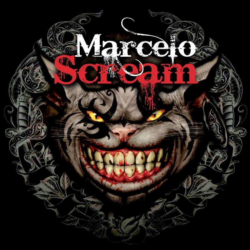Marcelo Scream Tattoo