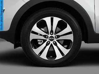 Kia sportage car 2013 tyres/wheel - صور اطارات سيارة كيا سبورتاج 2013