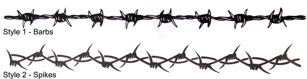 barbed wire armband tribal tattoo HUATULCO: Significado de TATUAJES de Espinas Alambre