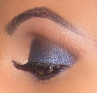 blue smokey eye mac