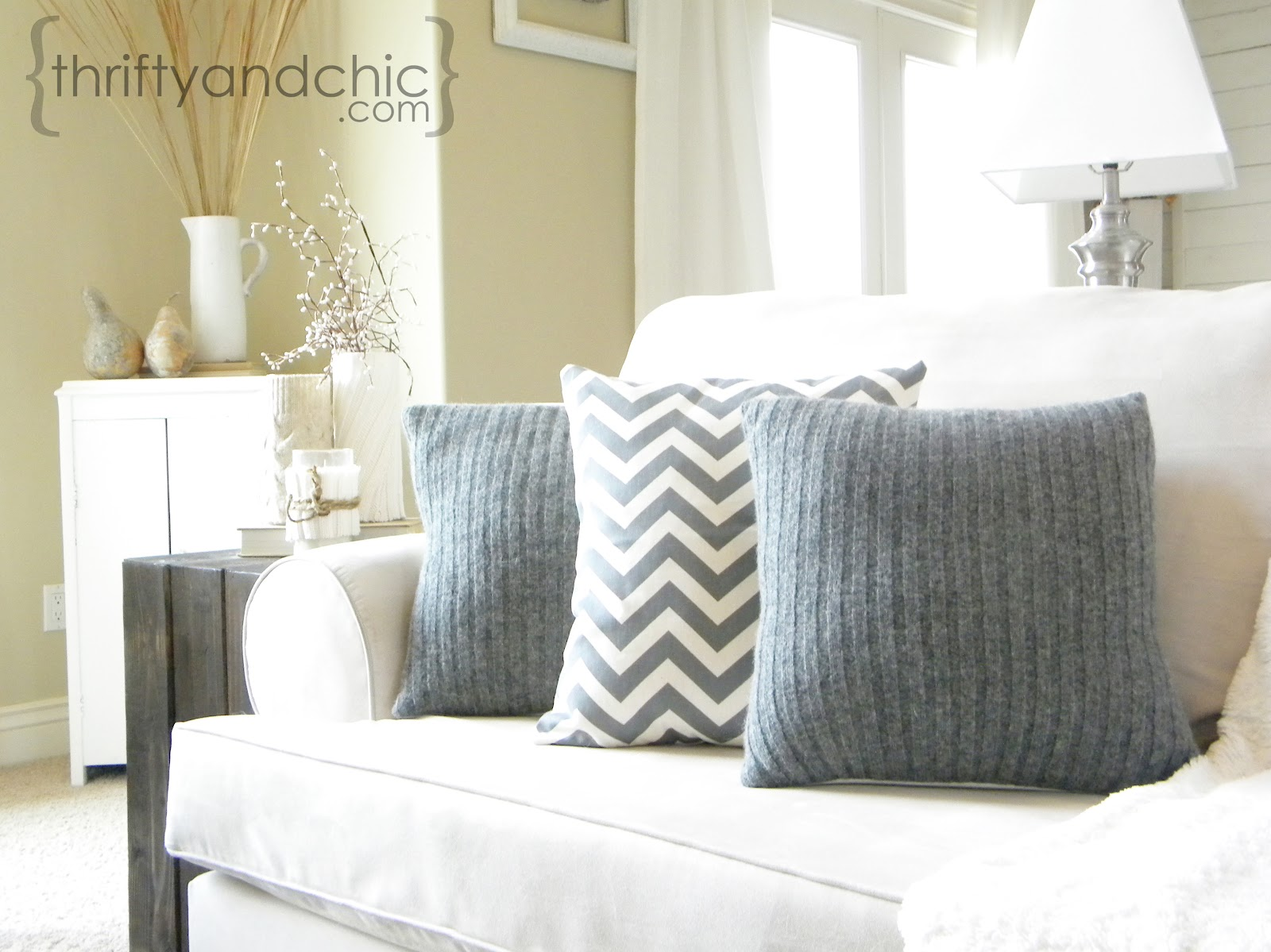 Diy Sweater Pillow Covers