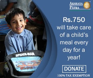 Akshaya Patra Foundation: Donate to Feed a Child!