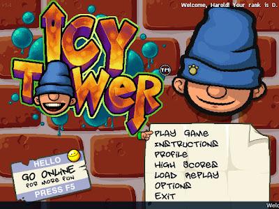 لعبة الرجل النطاط Icy Tower