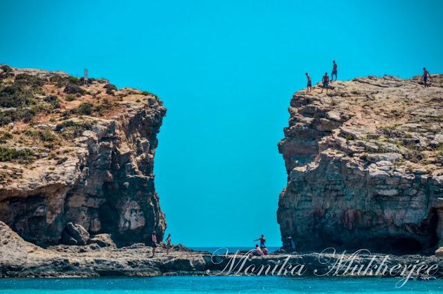 Comino Island Blue Lagoon Malta by Monika Mukherjee