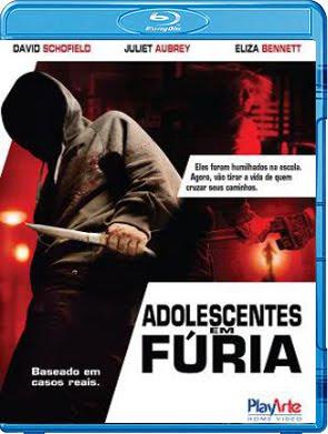 Filme Poster Adolescentes em Fúria BDRip XviD Dual Áudio & RMVB Dublado