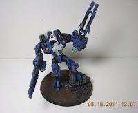 Cómo pintar una armadura de combate XV9 Hazard