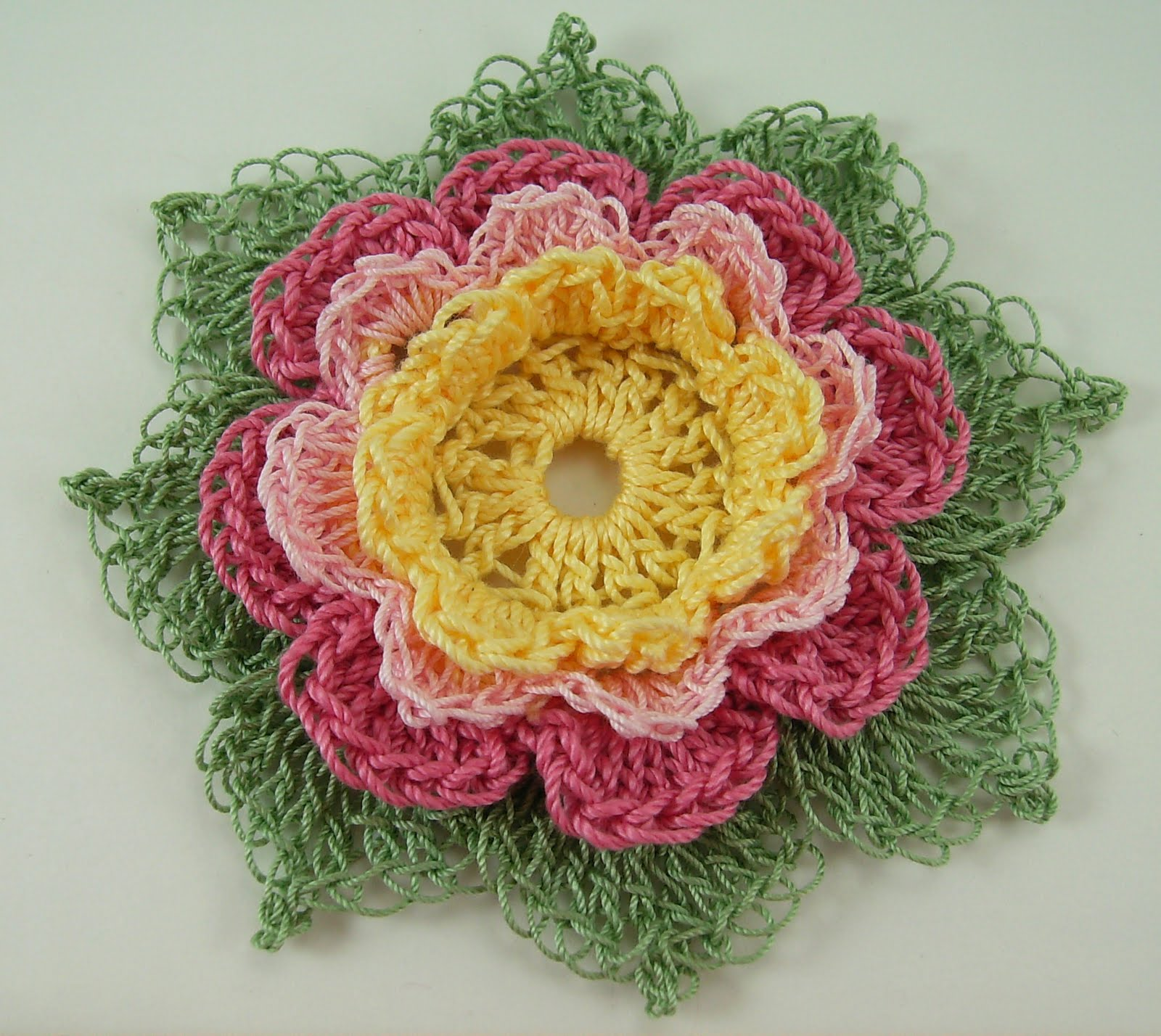 Crochet Flowers Bumbleberries Boutique